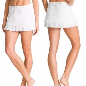 Athleta Good Match Tennis Skirt White